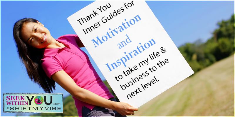 Spiritual Guidance for Motivation