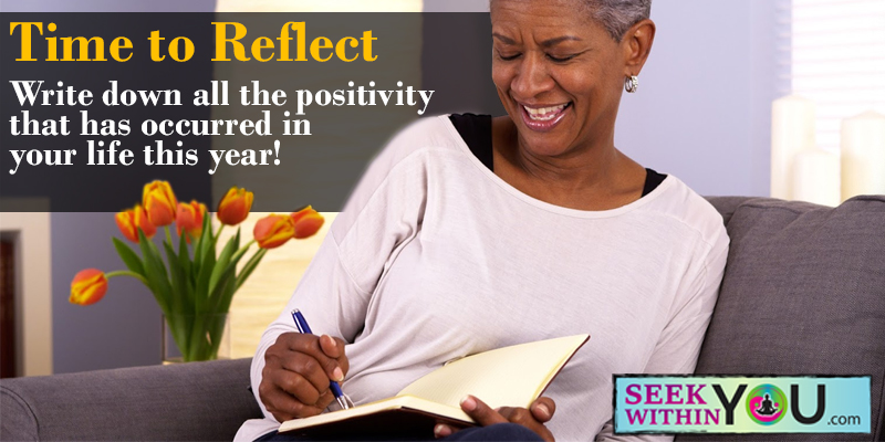 Time to Reflect for the New Year