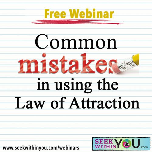 Webinar - Common <strong>Law of Attraction</strong> Mistakes