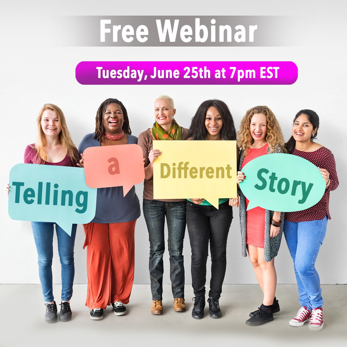 Telling a Different Story Webinar