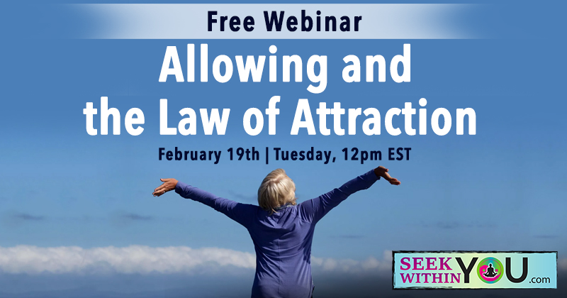 Allowing and the Law of Attraction Webinar