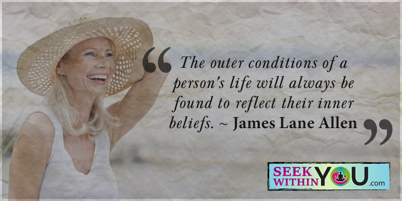 Outer Conditions reflect Inner Belief