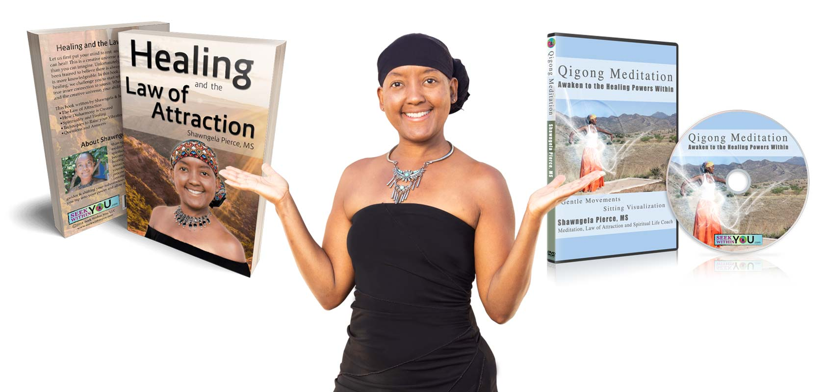 Healing and the Law of Attraction Book and Qigong DVD